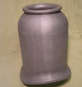 "Dome to suit 11 1/2"" dia barrel, height approx. 9 1/2"" from top of barrel, large decorative cover. Cast Aluminium"