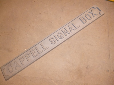 Custom Signal Box Signs - To Order