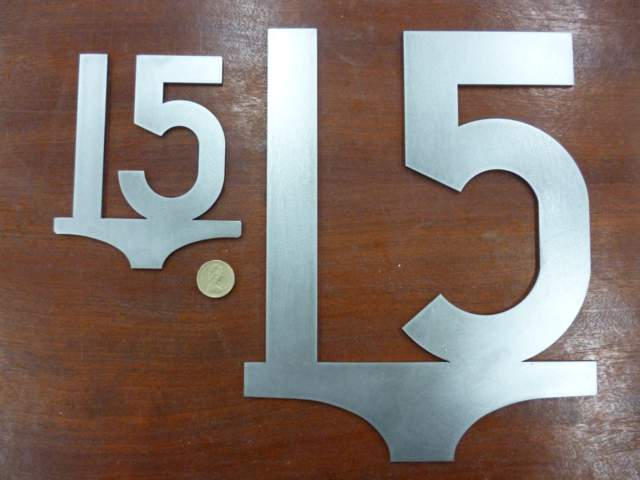 Large 15mph Speed Sign - Steel Profile