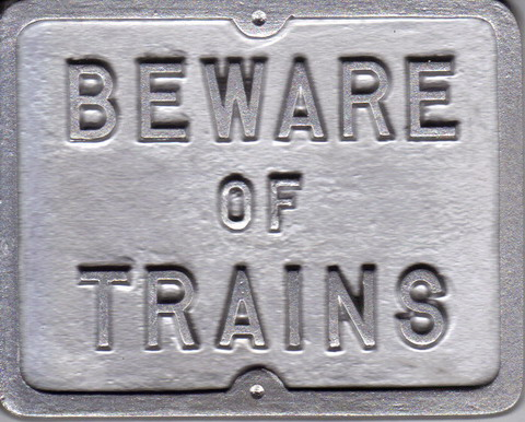 Mini Beware of Train