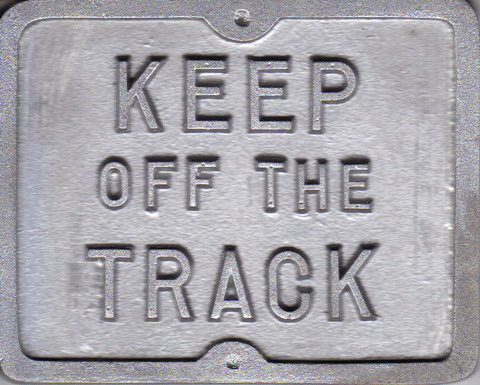 Mini Keep off the Track