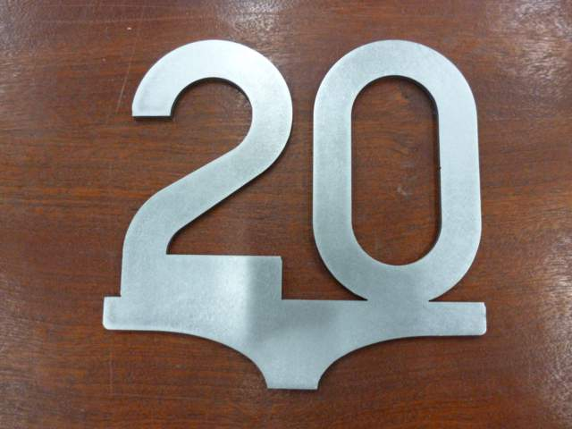 20mph Speed Sign - Steel Profile